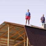 Как сделать мансардную крышу своими руками